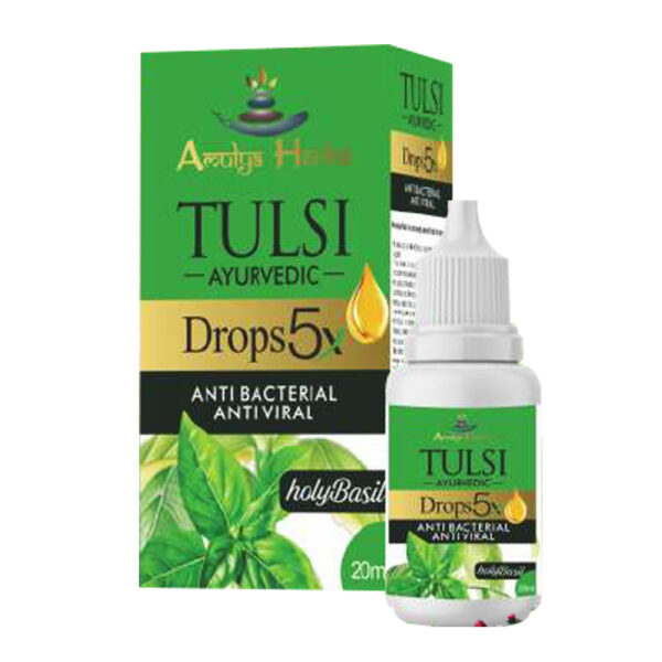 Tulsi Ayurvedic Drop Anti Bacterial Antiviral