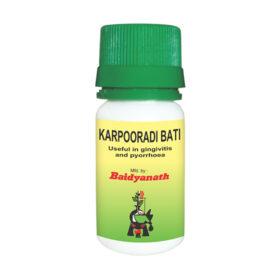 Baidyanath Karpooradi Bati